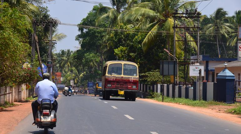 South Indian road