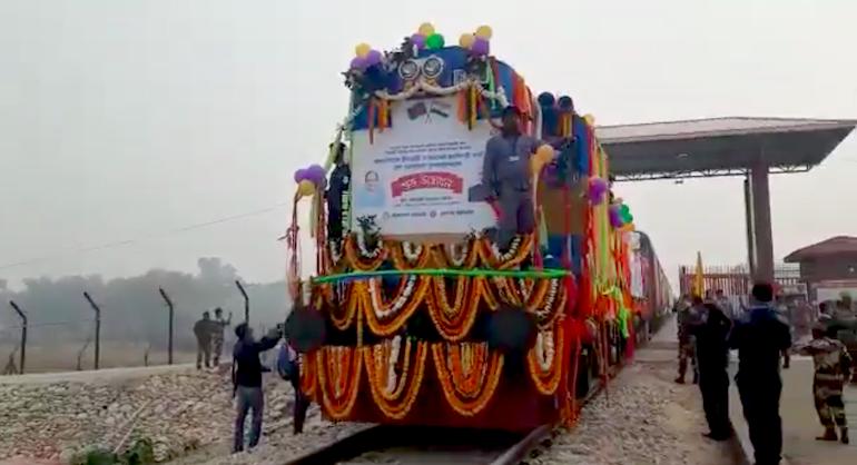 india bangladesh rail line