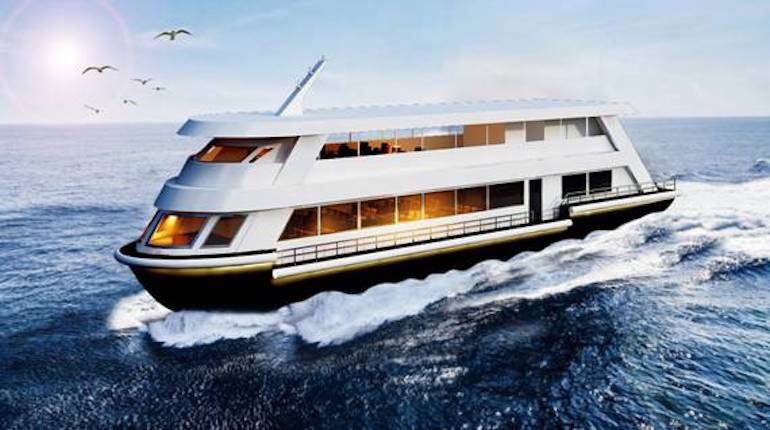 Artist's impression of the upcoming Saryu river cruise. Photo by PIB Delhi