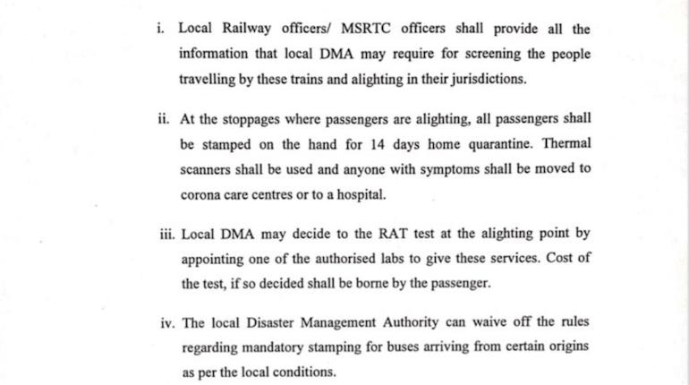 maharashtra public bus rules during covid april 2021
