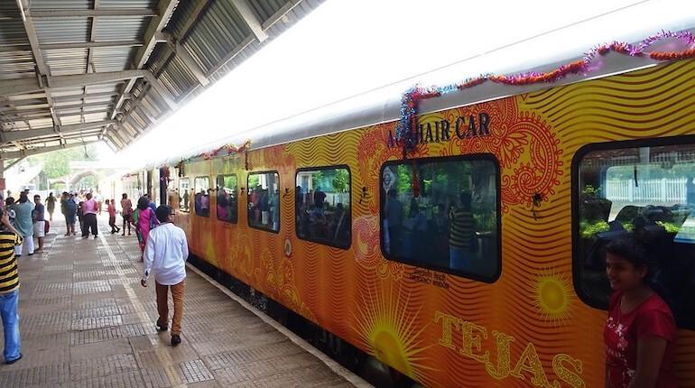tejas train cancellation new dindigul stop irctc news
