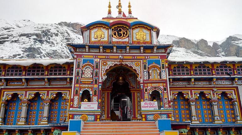 Ancient Lord Vishnu Temple Badrinath (Char dham), Uttarakhand India