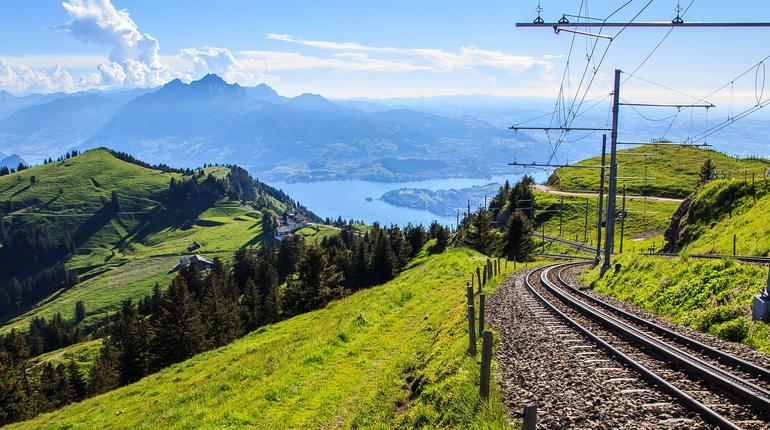 railway track down Riki Kulm Station