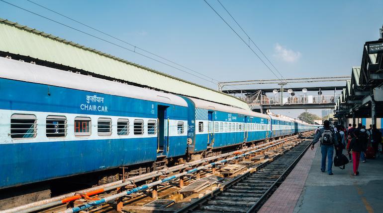 Bengaluru City Junction Railway Station platform