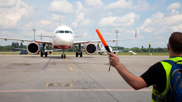 Kiev, Ukraine - June 23, 2020: Airplane, Airbus A320-251N Air India Airlines aircraft VT-EXH. The plane lands at the international Boryspil airport. Terminal Runway D.